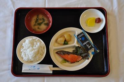 朝食(鮭)