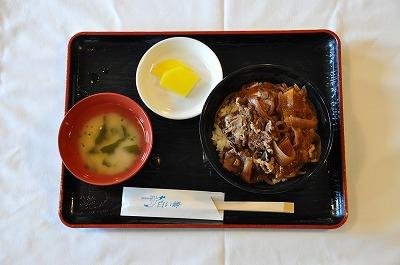 昼食(牛丼)